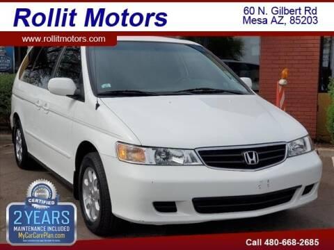 2004 Honda Odyssey for sale at Rollit Motors in Mesa AZ