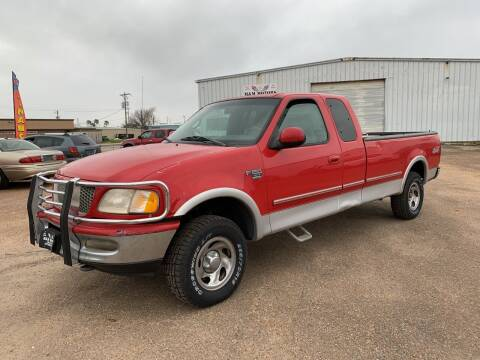 1998 Ford F-150 for sale at M & M Motors in Angleton TX