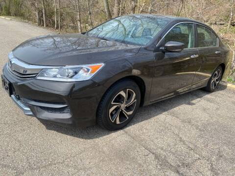 2016 Honda Accord for sale at Matt Jones Preowned Auto in Wheeling WV