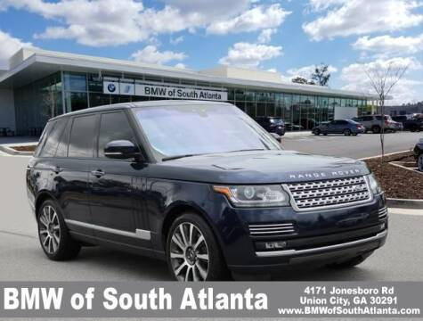 2017 Land Rover Range Rover for sale at Carol Benner @ BMW of South Atlanta in Union City GA