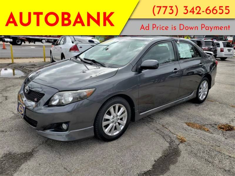 2009 Toyota Corolla for sale at AutoBank in Chicago IL