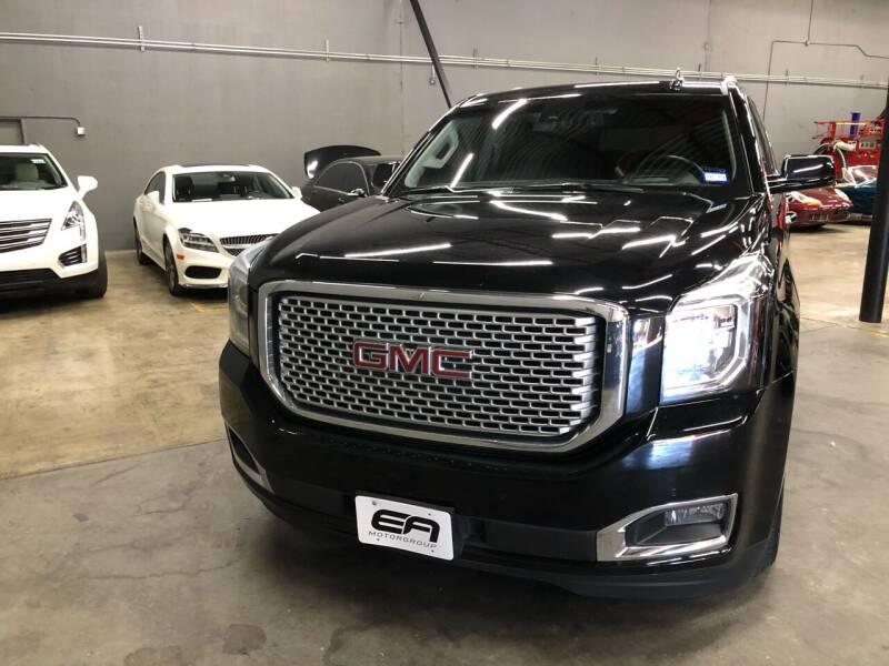 2015 GMC Yukon for sale at EA Motorgroup in Austin TX