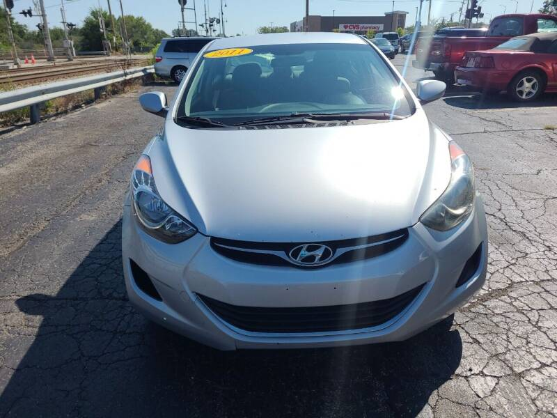 2012 Hyundai Elantra for sale at Discovery Auto Sales in New Lenox IL