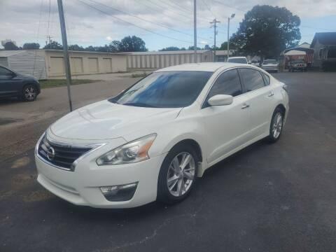 2014 Nissan Altima for sale at Savannah Motor Co in Savannah TN