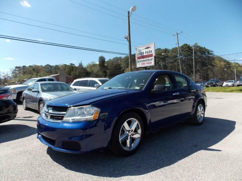 2013 Dodge Avenger for sale at Deer Park Auto Sales Corp in Newport News VA