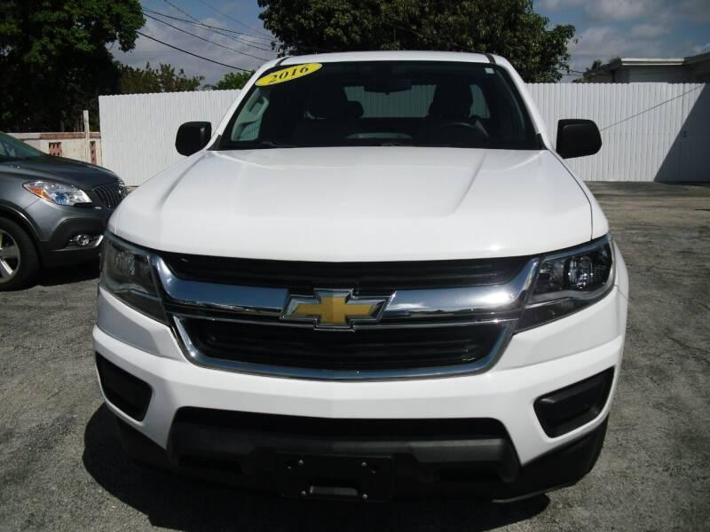 2016 Chevrolet Colorado for sale at SUPERAUTO AUTO SALES INC in Hialeah FL
