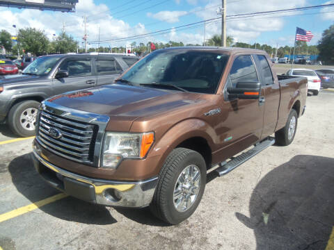 2012 Ford F-150 for sale at ORANGE PARK AUTO in Jacksonville FL
