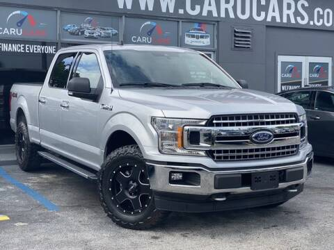 2019 Ford F-150 for sale at CARUCARS LLC in Miami FL