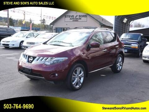 2010 Nissan Murano for sale at Steve & Sons Auto Sales in Happy Valley OR