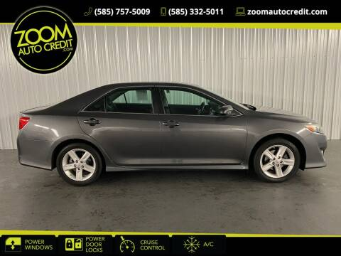 2014 Toyota Camry for sale at ZoomAutoCredit.com in Elba NY