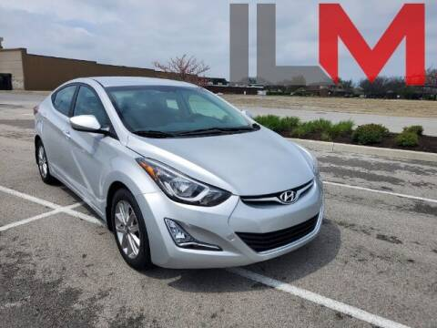 2015 Hyundai Elantra for sale at INDY LUXURY MOTORSPORTS in Fishers IN