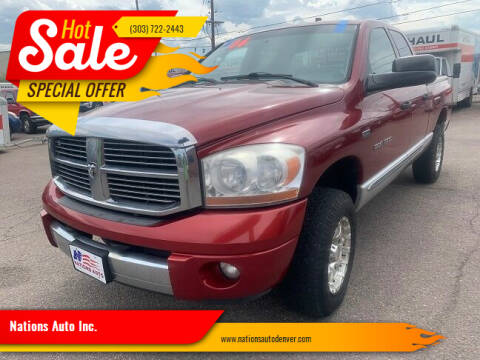 2006 Dodge Ram Pickup 1500 for sale at Nations Auto Inc. in Denver CO
