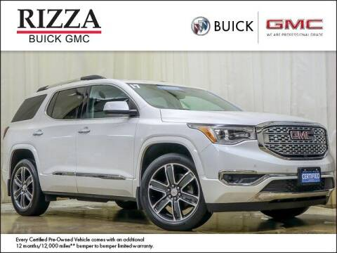 2017 GMC Acadia for sale at Rizza Buick GMC Cadillac in Tinley Park IL