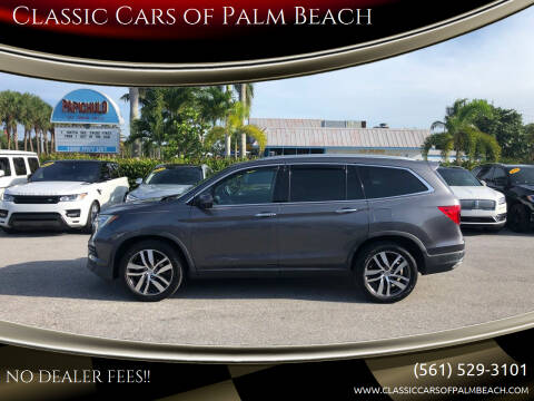 2016 Honda Pilot for sale at Classic Cars of Palm Beach in Jupiter FL