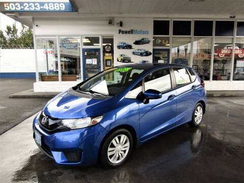 2016 Honda Fit for sale at Powell Motors Inc in Portland OR