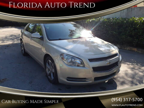 2011 Chevrolet Malibu for sale at Florida Auto Trend in Plantation FL