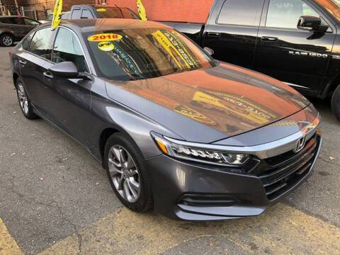 2018 Honda Accord for sale at Buy Here Pay Here Auto Sales in Newark NJ