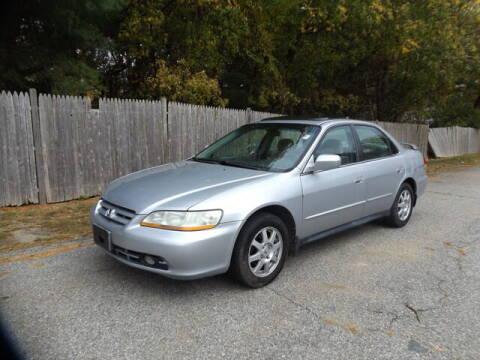 2002 Honda Accord for sale at Wayland Automotive in Wayland MA