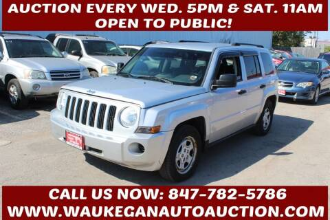 2009 Jeep Patriot for sale at Waukegan Auto Auction in Waukegan IL