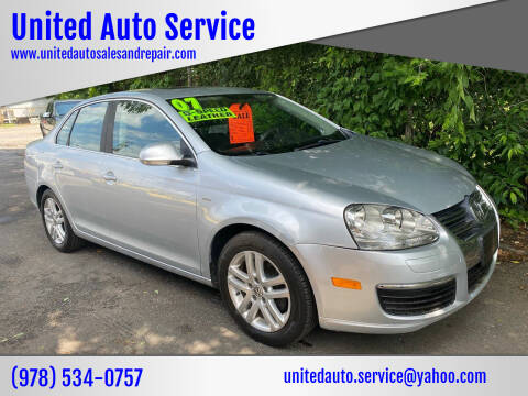 2007 Volkswagen Jetta for sale at United Auto Service in Leominster MA