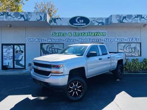 2016 Chevrolet Silverado 1500 for sale at Greenway Auto Sales in Jacksonville FL