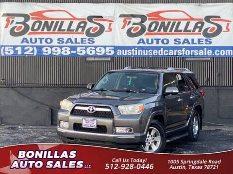 2013 Toyota 4Runner for sale at Bonillas Auto Sales in Austin TX