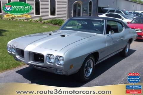 1970 Pontiac GTO for sale at ROUTE 36 MOTORCARS in Dublin OH