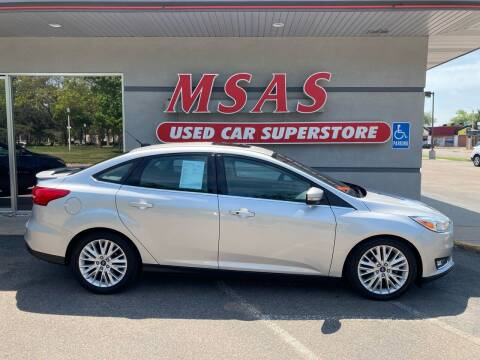 2015 Ford Focus for sale at MSAS AUTO SALES in Grand Island NE