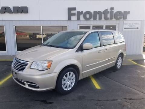 2014 Chrysler Town and Country for sale at Frontier Motors Automotive, Inc. in Winner SD