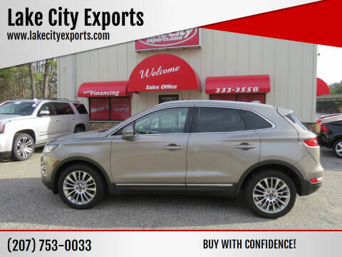 2016 Lincoln MKC for sale at Lake City Exports - Lewiston in Lewiston ME