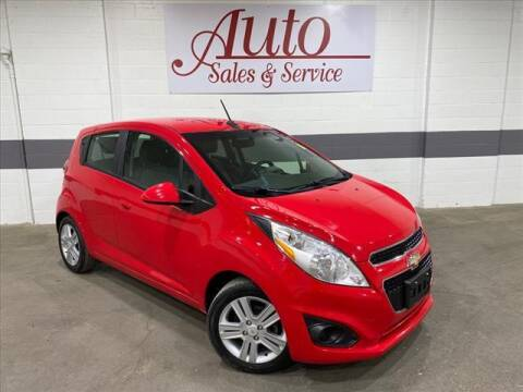 2013 Chevrolet Spark for sale at Auto Sales & Service Wholesale in Indianapolis IN