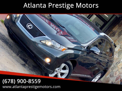 2010 Lexus RX 350 for sale at Atlanta Prestige Motors in Decatur GA