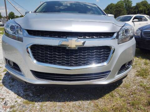 2015 Chevrolet Malibu for sale at Lanier Motor Company in Lexington NC
