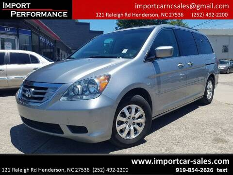 2010 Honda Odyssey for sale at Import Performance Sales - Henderson in Henderson NC