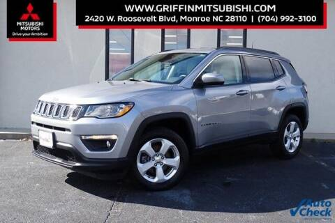 2018 Jeep Compass for sale at Griffin Mitsubishi in Monroe NC