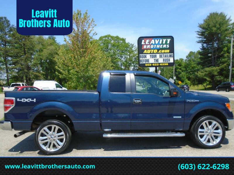 2013 Ford F-150 for sale at Leavitt Brothers Auto in Hooksett NH