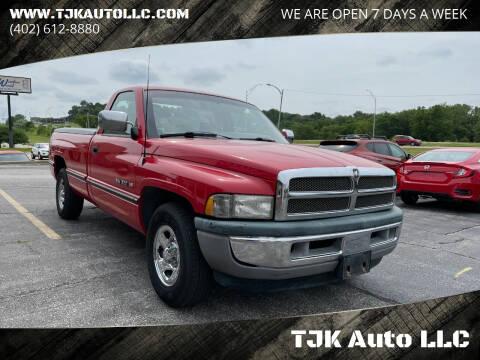 1997 Dodge Ram Pickup 1500 for sale at TJK Auto LLC in Omaha NE