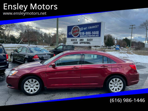 2012 Chrysler 200 for sale at Ensley Motors in Allendale MI
