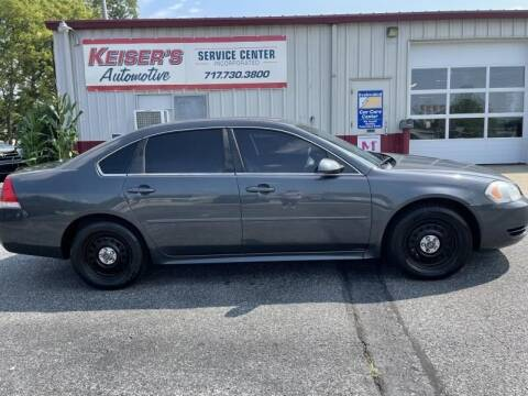 2010 Chevrolet Impala for sale at Keisers Automotive in Camp Hill PA
