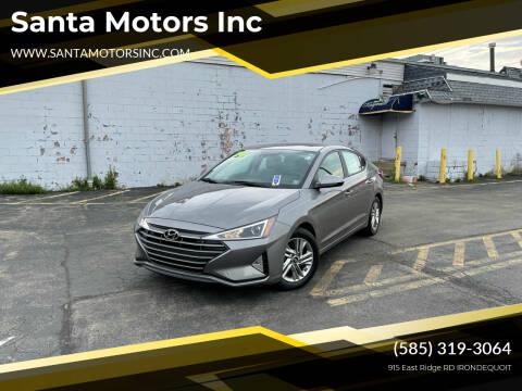 2020 Hyundai Elantra for sale at Santa Motors Inc in Rochester NY