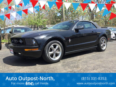 2006 Ford Mustang for sale at Auto Outpost-North, Inc. in McHenry IL
