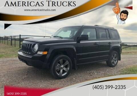 2017 Jeep Patriot for sale at Americas Trucks in Jones OK