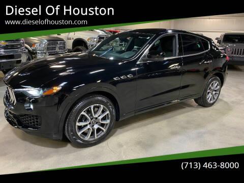 2020 Maserati Levante for sale at Diesel Of Houston in Houston TX