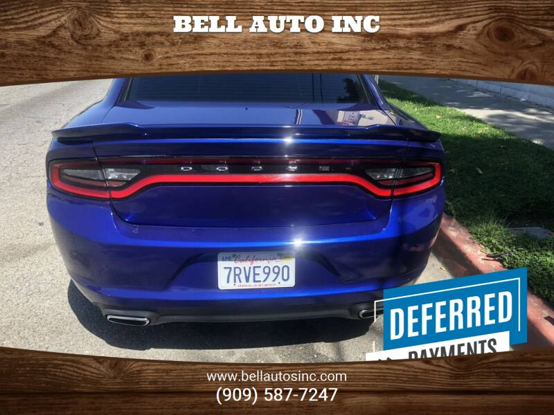 2016 Dodge Charger for sale at Bell Auto Inc in Long Beach CA