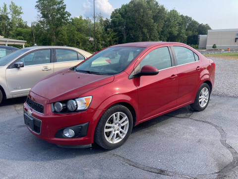 2012 Chevrolet Sonic for sale at McCully's Automotive - Under $10,000 in Benton KY