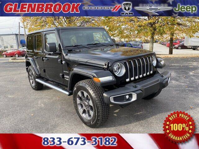 2018 Jeep Wrangler Unlimited for sale at Glenbrook Dodge Chrysler Jeep Ram and Fiat in Fort Wayne IN