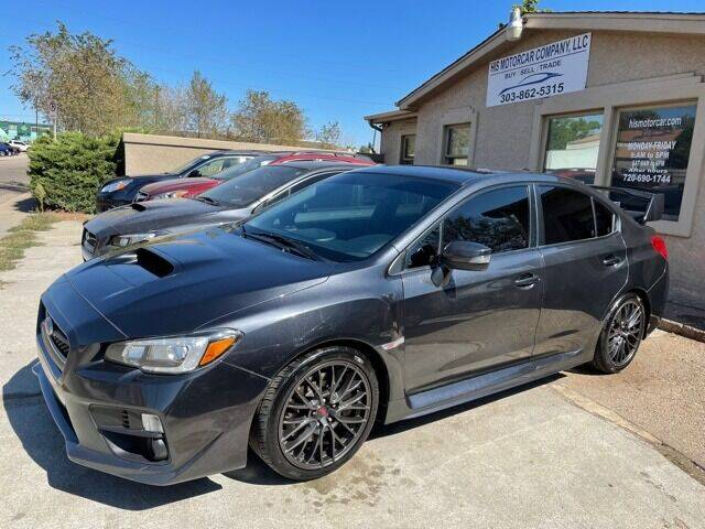 2016 Subaru STI for sale at His Motorcar Company in Englewood CO