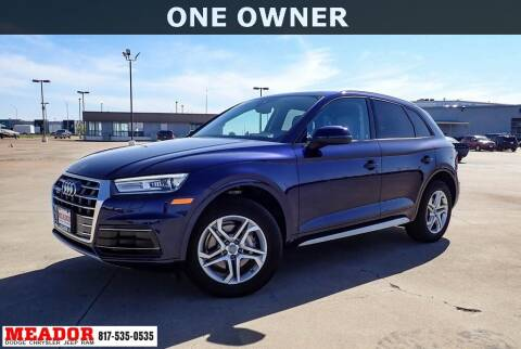 2018 Audi Q5 for sale at Meador Dodge Chrysler Jeep RAM in Fort Worth TX
