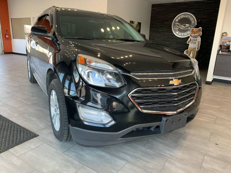 2017 Chevrolet Equinox for sale at Evolution Autos in Whiteland IN