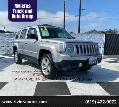 2012 Jeep Patriot for sale at Rivieras Truck and Auto Group in Chula Vista CA